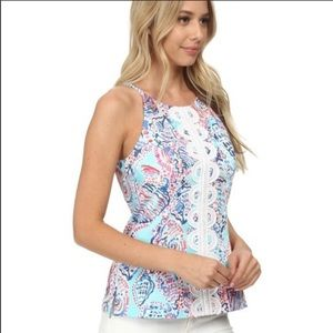 Lilly Pulitzer Annabelle Shell Me About It tank, 4